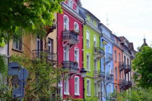 Freiburg bunte Häuser