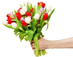Blumenstrauß für die Erfolge