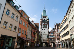 Martinstor in Freiburg im Breisgau