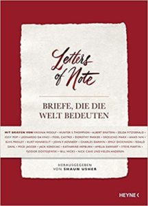 Buchcover von Letters of note